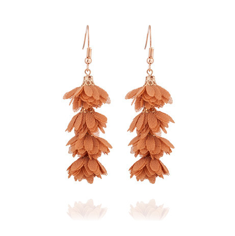Camilla Bella Flower Drop Earrings - 13 colors!! - The Songbird Collection