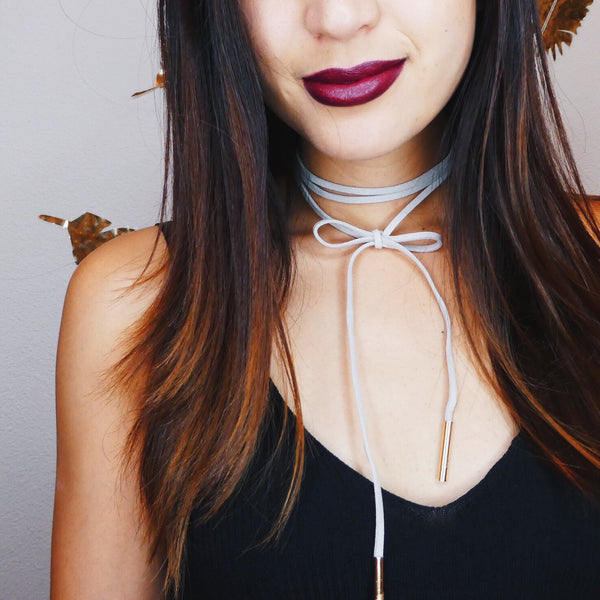 Soria Wrap Choker - Last Chance! - The Songbird Collection