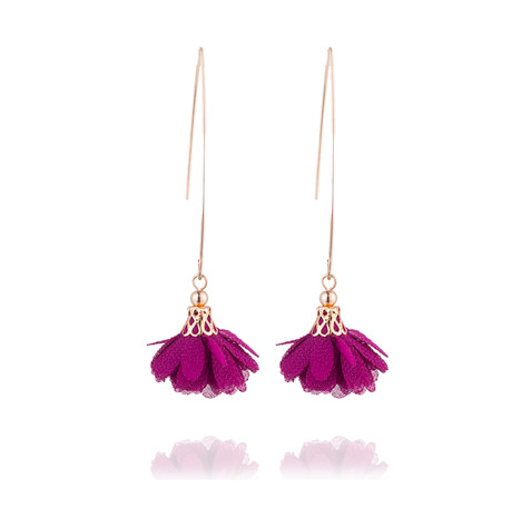 Leilani Flower Drop Earrings - 15 COLORS! - The Songbird Collection