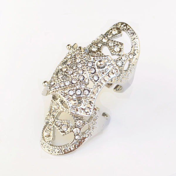 Alexandra Knuckle Ring - The Songbird Collection