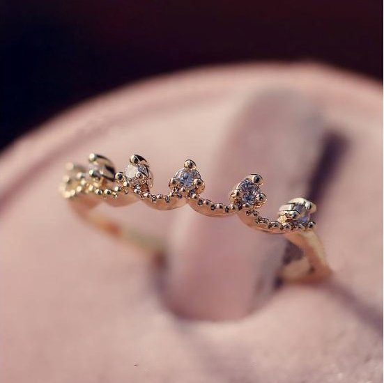 Aquarius - Astro Muse Luxury Ring Collection - The Songbird Collection