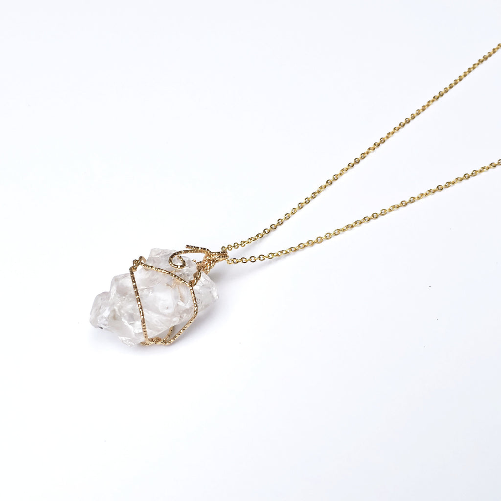 listing photo crystal il gallery raw kunzite necklace stone fullxfull