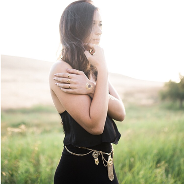 Golden Sunset Belt - NOW in SILVER too! - The Songbird Collection