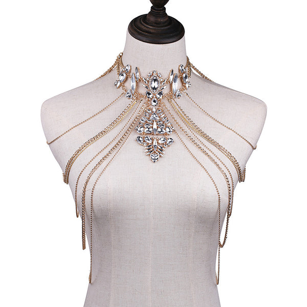 Crystal Chandelier Body Chains - The Songbird Collection