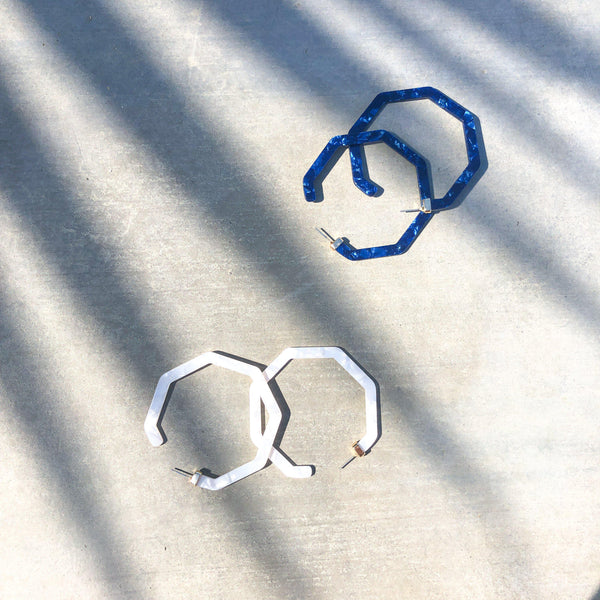 Hampton Geo Hoop Earrings - LOW STOCK! - The Songbird Collection
