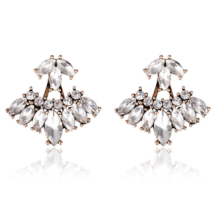 Love Eternal Crystal Ear Jackets - HURRY! Just a FEW LEFT - The Songbird Collection