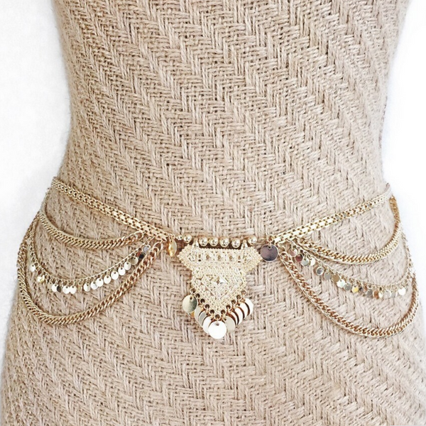 Boho Shimmy Belly Chains - BEST SELLER!! - The Songbird Collection