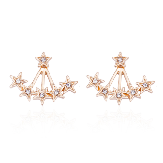 Star Burst Ear Jackets - The Songbird Collection