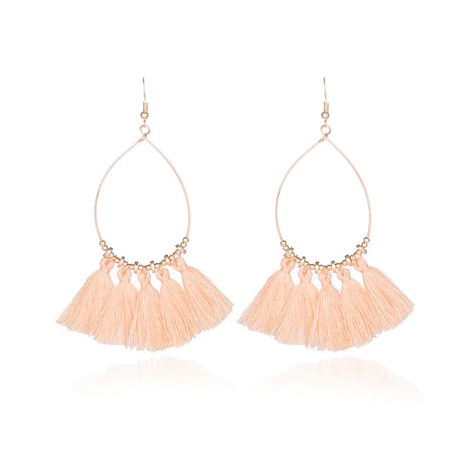 Acapulco Tassel Statement Earrings - 9 COLORS! - The Songbird Collection