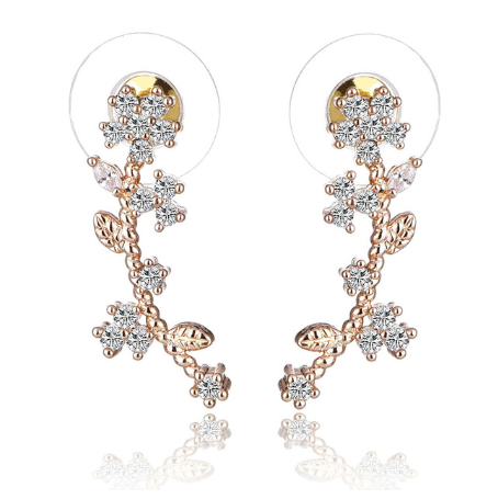 Jasmine Earrings - The Songbird Collection
