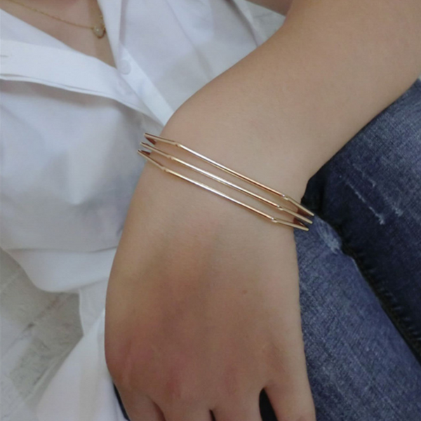 Trois Lines Bracelet - LAST CHANCE - The Songbird Collection