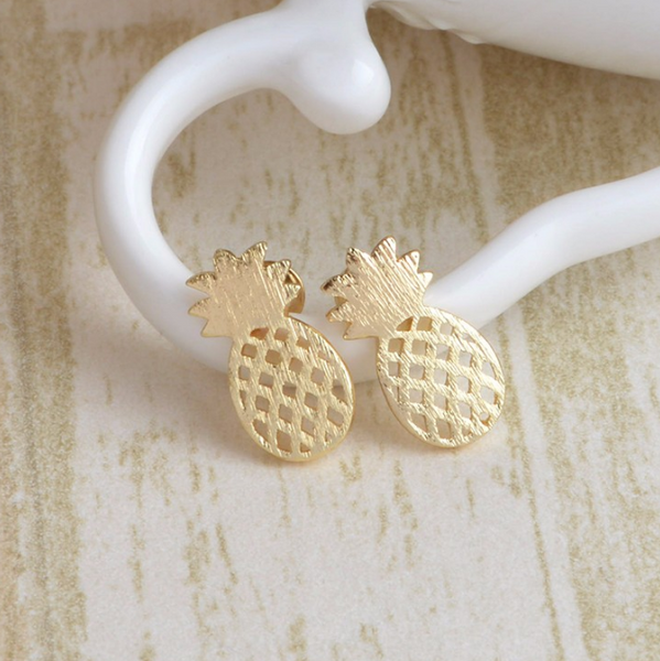 Pineapple Summer Earrings - The Songbird Collection