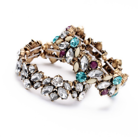 Soirée Crystal Bracelet - The Songbird Collection