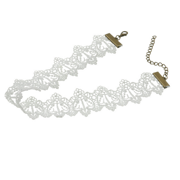 Snow White Lace Choker - The Songbird Collection