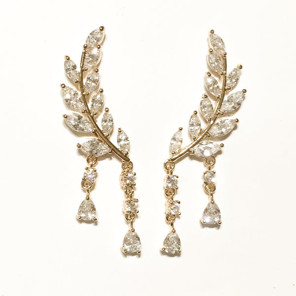 Claire de Lune Earrings - The Songbird Collection
