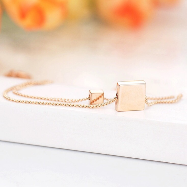 Square Duet Bracelet - Last Chance! 6 LEFT - The Songbird Collection
