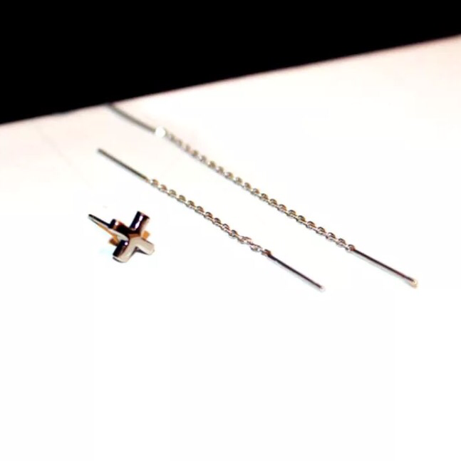 Chains and Cross 3 Piece Earring Set - LAST CHANCE! - The Songbird Collection