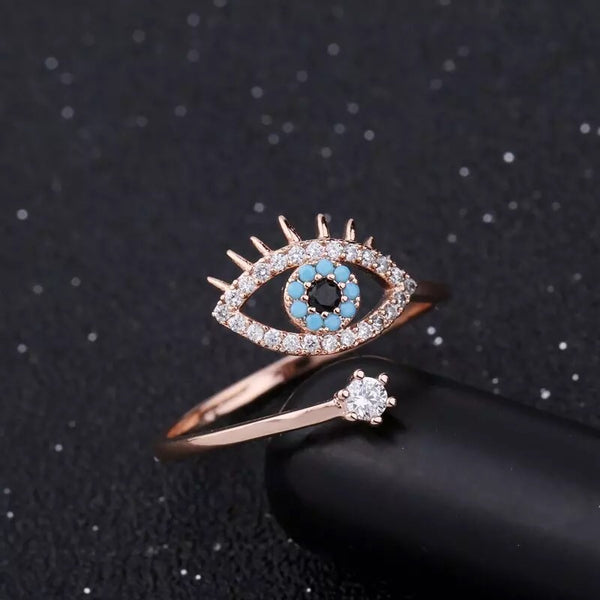 Blue Eye Ring - LOW STOCK!! - The Songbird Collection