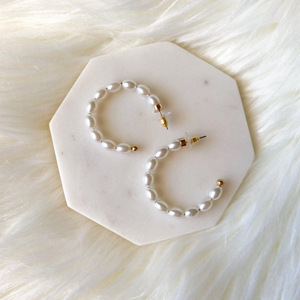 Perla Hoop Earrings - 2 Styles! - The Songbird Collection