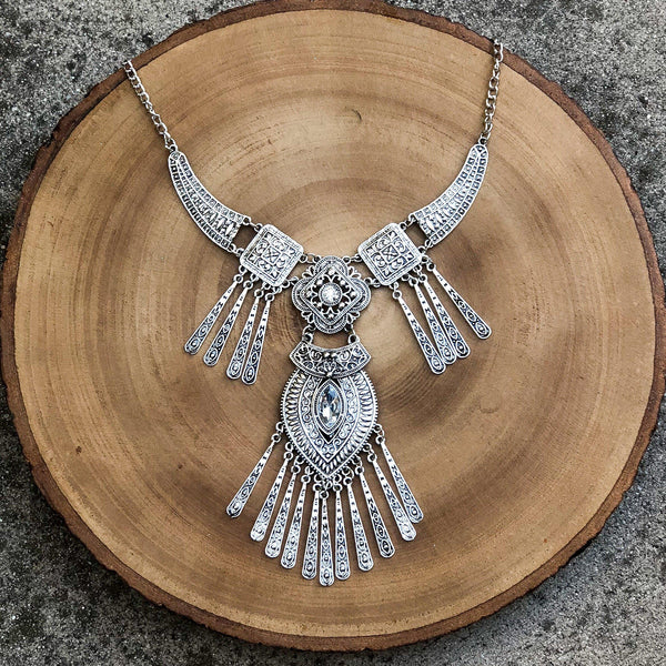 Coachella Statement Necklace - The Songbird Collection