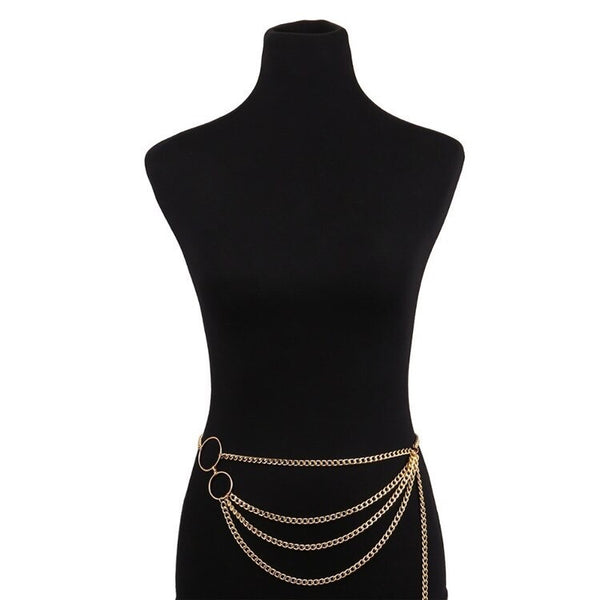 Mod Geo Belly Chains - The Songbird Collection
