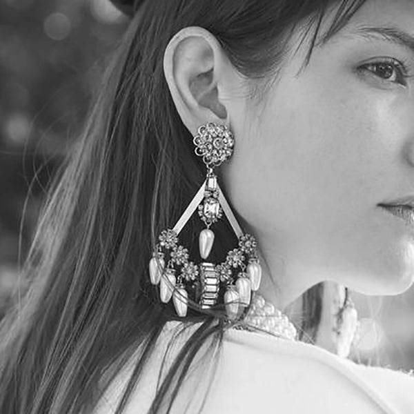 Prerna Boho Statement Earrings - LOW STOCK!! - The Songbird Collection