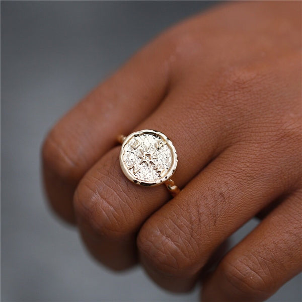 Wanderlust Compass Ring - LOW STOCK!! - The Songbird Collection