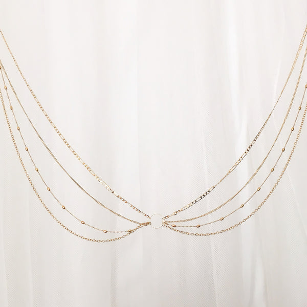 Morocco Sunrise Belly & Bra Chains - LAST CHANCE! - The Songbird Collection