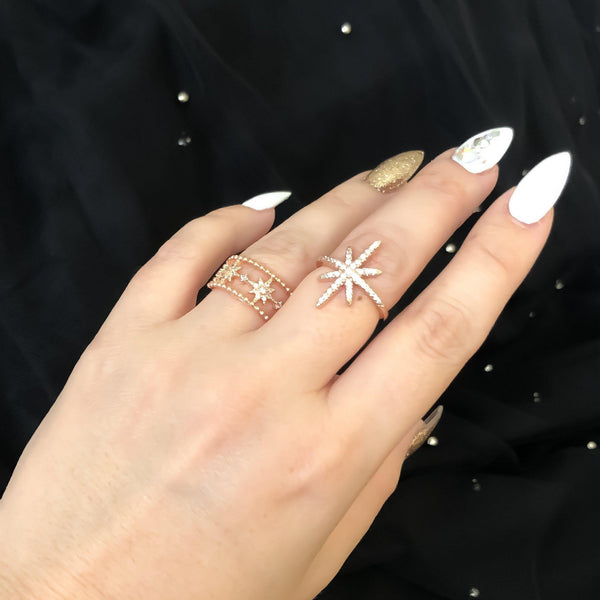Starlight Ring - Now in Rose Gold too! LOW STOCK! - The Songbird Collection