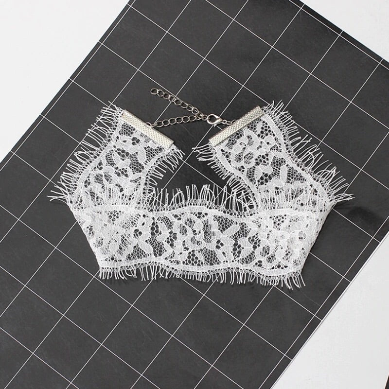 Naughty or Nice Lace Choker - RESTOCKED! - The Songbird Collection