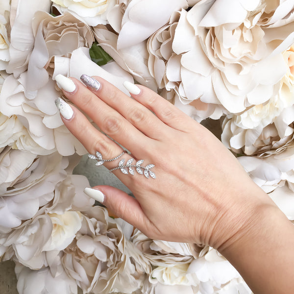 Cascading Leaves Ring - HOORAY! RESTOCKED!!! - The Songbird Collection