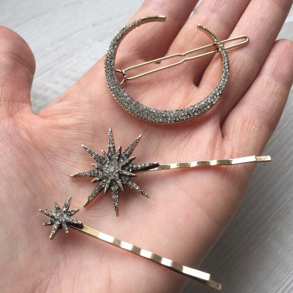 Stargazer Hair Pin Set - RESTOCKED! - The Songbird Collection