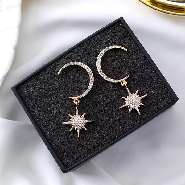 Goodnight Moon Earrings - The Songbird Collection
