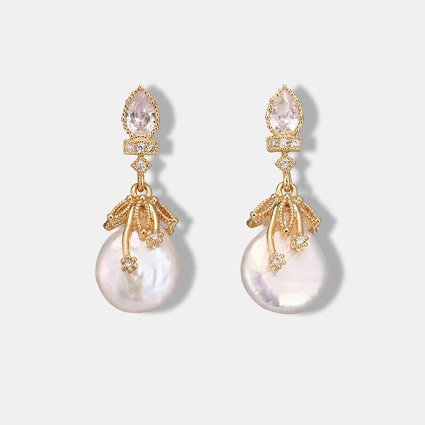 Cherish Freshwater Pearl Earrings