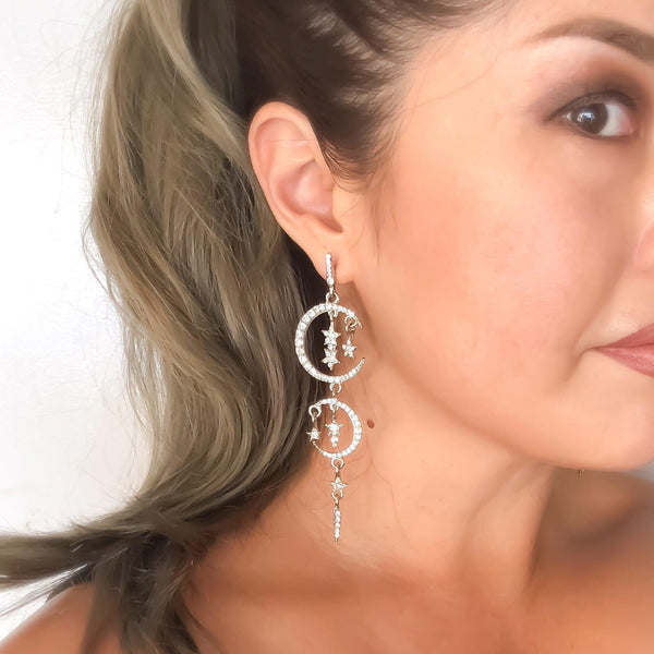 Starry Dreams Earrings - Now in Black Too! - The Songbird Collection