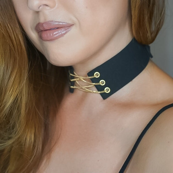 Shay Corset Choker - The Songbird Collection