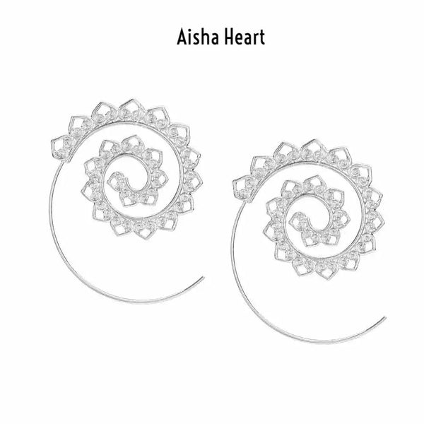Aisha Swirl Earrings - 4 Bohemian Styles LOW STOCK! - The Songbird Collection