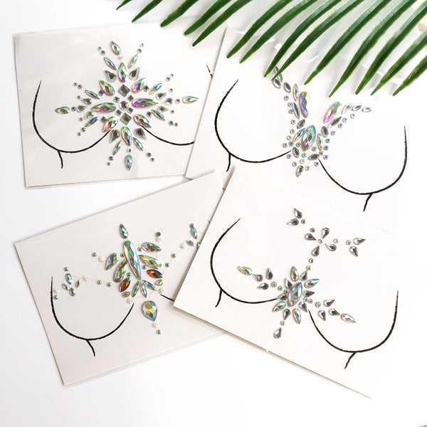 Sparkle Body Gems - ALL 8 HOT Designs RESTOCKED!!