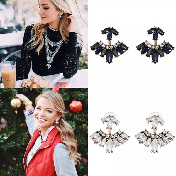 Love Eternal Crystal Ear Jackets -2 Colors, LAST CHANCE! - The Songbird Collection