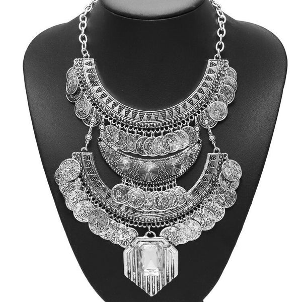 Krishna Maxi Statement Necklace - The Songbird Collection