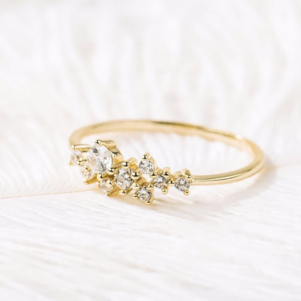 Cassiopeia Ring - Astro Muse Collection *All Sizes RESTOCKED! - The Songbird Collection