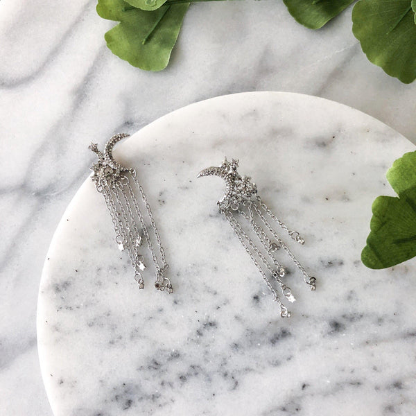 Moonlight & Starfall Earrings - Restocked!! - The Songbird Collection