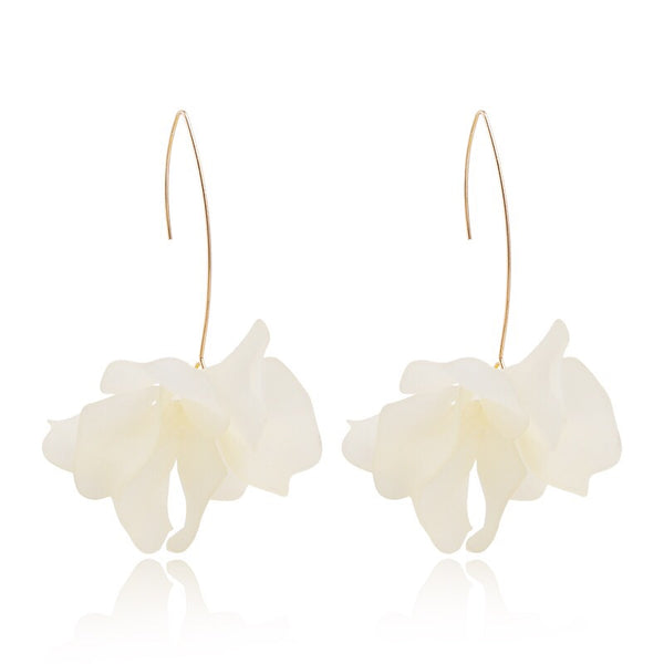 Cyclamen Petal Drop Earrings - 9 Colors LAST CHANCE! - The Songbird Collection