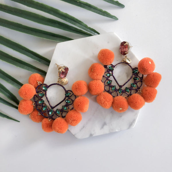 Samba Statement Earrings - 10 Colors LAST CHANCE! - The Songbird Collection