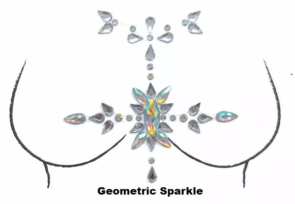 Sparkle Body Gems - 7 HOT Designs!