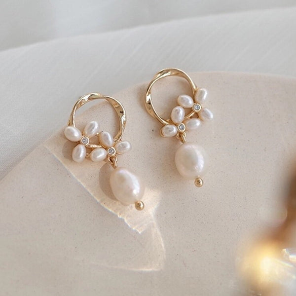 Promise Freshwater Pearl Earrings - 7 LEFT!! - The Songbird Collection