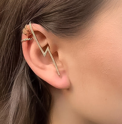 Lightning ⚡️ Ear Hook / Ear Cuff - The Songbird Collection
