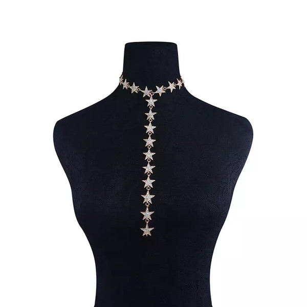 Star Spangled Lariat Necklace - RESTOCKED! - The Songbird Collection