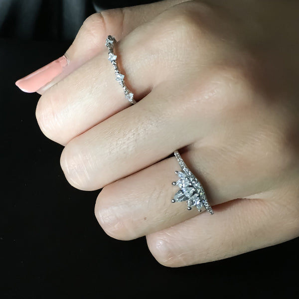 Tiara Ring- Astro Muse Luxury Ring Collection LOW STOCK! - The Songbird Collection