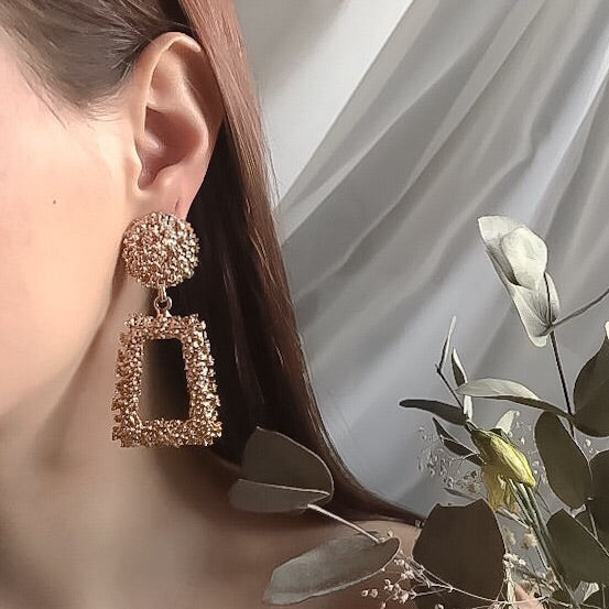 Arlow Statement Earrings - The Songbird Collection